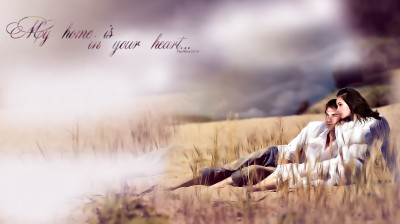 Арт «My home is in your heart» PG
