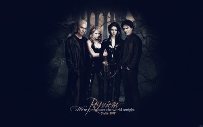 Фан-арт «Requiem: we're gonna save the world tonight» PG
