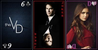"Карты ""the Vampire Diaries"" G"